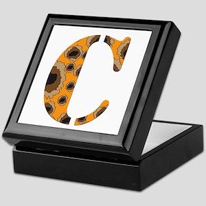 The Letter 'C' Keepsake Box