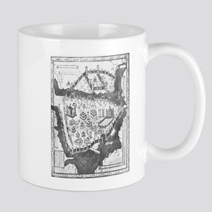 Constantinople Map Mug