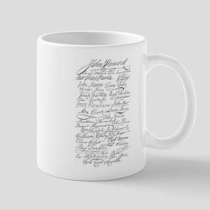 Declaration of Independence S Mug