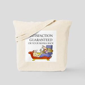 funny therapist Tote Bag