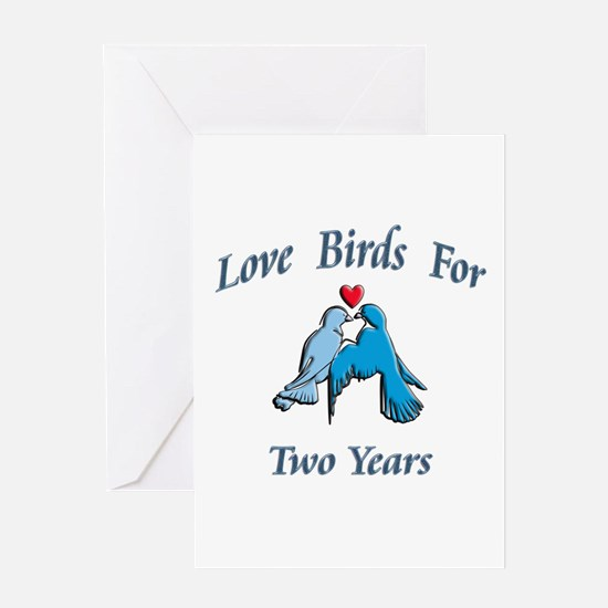 Love bird wedding Greeting Card