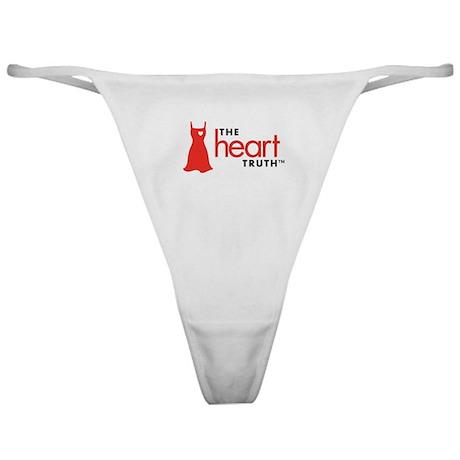 Heart Health for Women Classic Thong