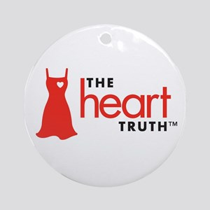 Heart Health for Women Ornament (Round)
