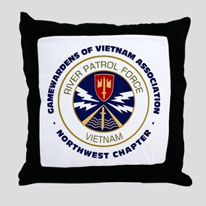 NW Chapter Logo Throw Pillow