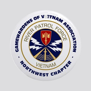 NW Chapter Logo Ornament (Round)