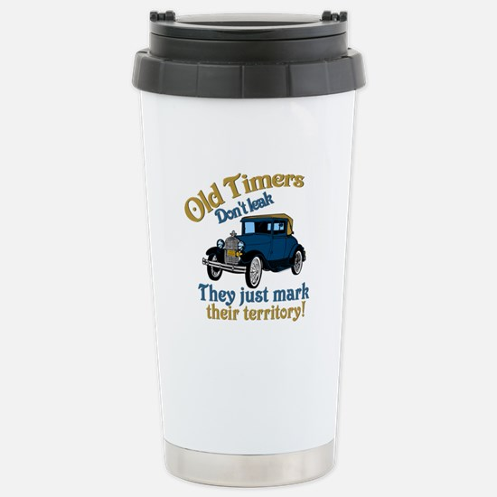 Old Timers Stainless Steel Travel Mug