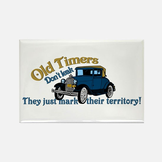 Old Timers Rectangle Magnet