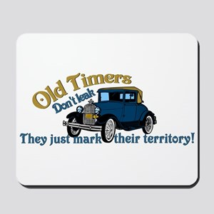 Old Timers Mousepad