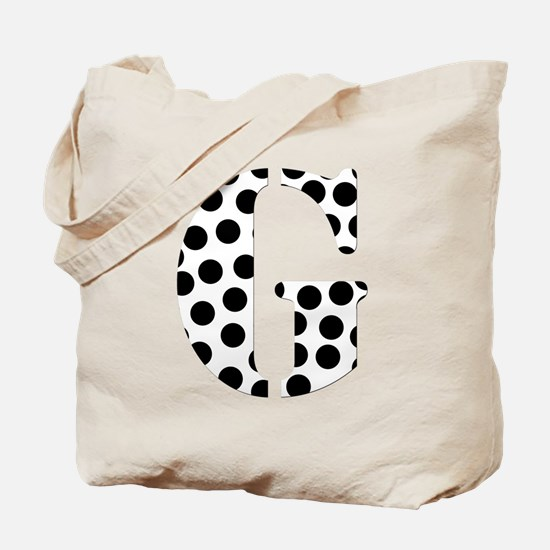 The Letter 'G' Tote Bag
