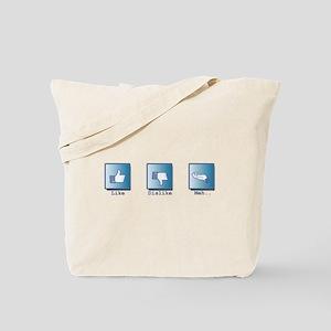 Like, Dislike, Meh.. Tote Bag