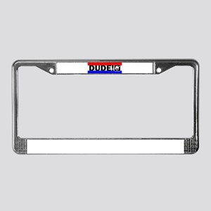 PURE DUDE-1 Magnets, Stickers License Plate Frame