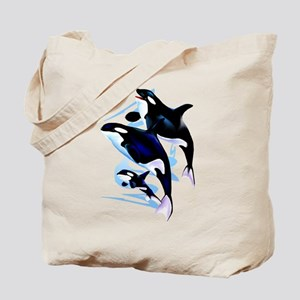 Orca Family Tote Bag