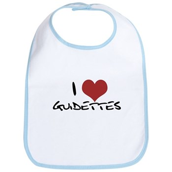 I Heart Guidettes Bib