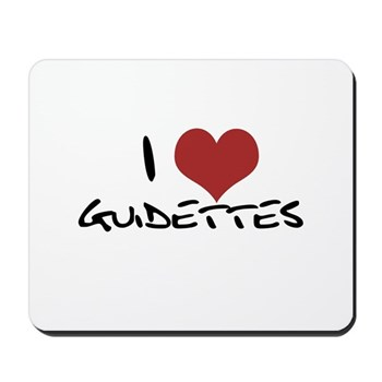 I Heart Guidettes Mousepad