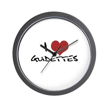 I Heart Guidettes Wall Clock