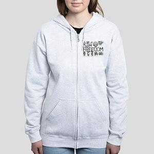 Farm for Freedom Women's Zip Hoodie
