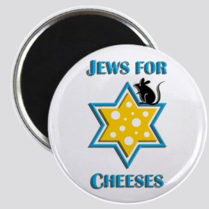 Jews for Cheeses Magnet