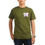 Butterfly Rainbow Organic Men's T-Shirt (dark)