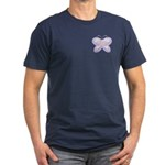 Butterfly Rainbow Men's Fitted T-Shirt (dark)