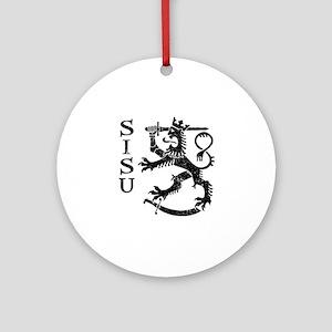 Sisu Ornament (Round)
