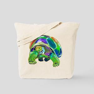 Rainbow Tortoise Tote Bag