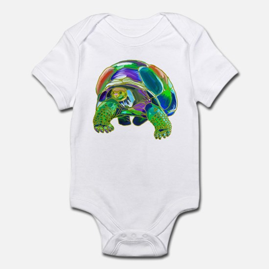 Rainbow Tortoise Infant Bodysuit
