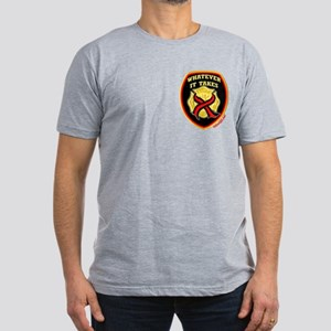 ThinRedLine WhateverItTakes Men's Fitted T-Shirt (