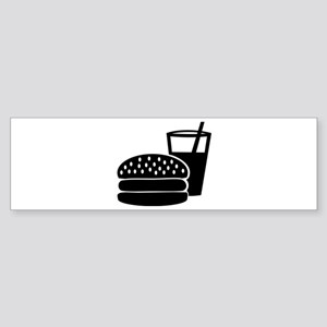 Fast food - Burger Sticker (Bumper)