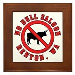 No Bull Saloon 1 Framed Tile