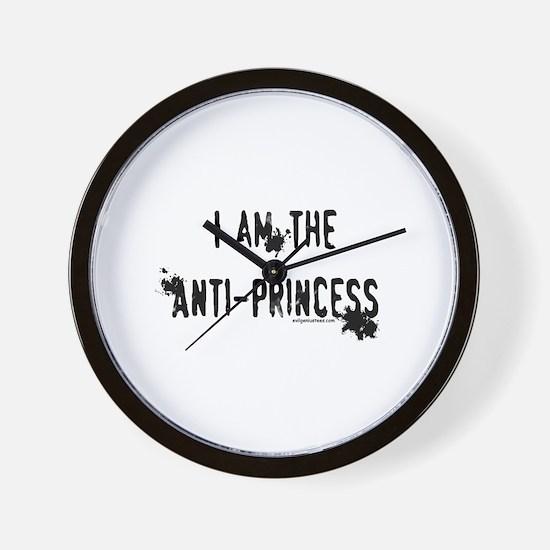 I am the Anti-Princess Wall Clock
