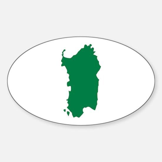 Sardinia Sticker (Oval)