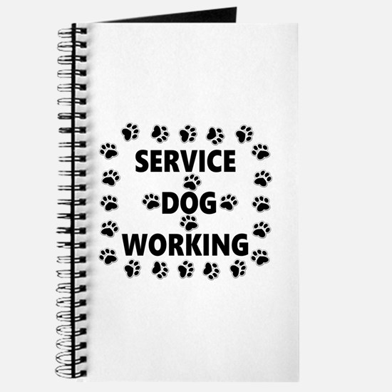 SERVICE DOG WORKING Journal