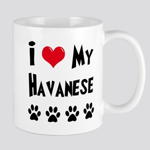 I Love My Havanese Mug