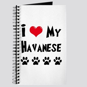 I Love My Havanese Journal