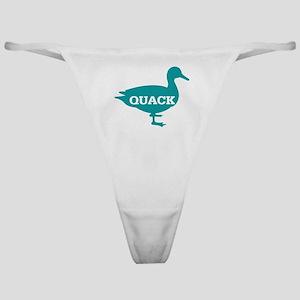 Duck: Quack Classic Thong