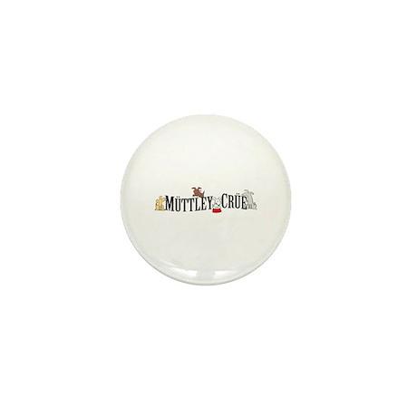 Muttley Crue Mini Button (100 pack)