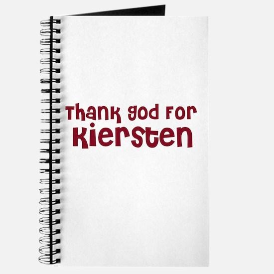 Thank God For Kiersten Journal