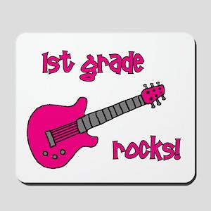 1st Grade Rocks! Guitar Mousepad