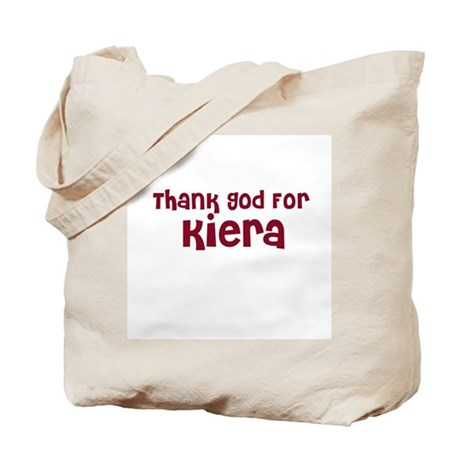 Thank God For Kiera Tote Bag