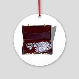 Diamond Business Ornament (Round)