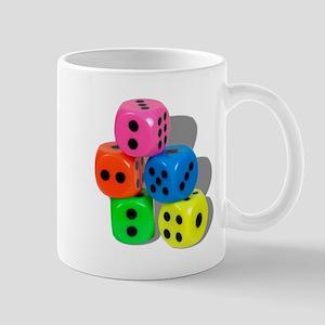 Dice Colorful Mug