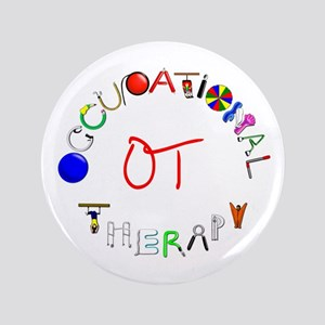 "OT at work 3.5"" Button"