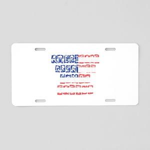 America's Greatest Compo Ca Aluminum License Plate