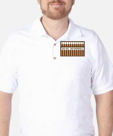 The Mighty Abacus Golf Shirt