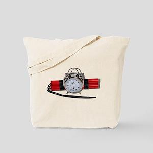 Dynamite Alarm Bomb Tote Bag