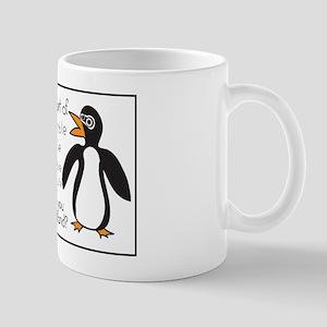 Mumble Mumble Penguin Mug