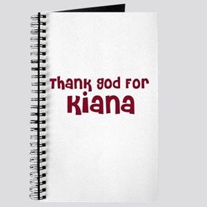 Thank God For Kiana Journal
