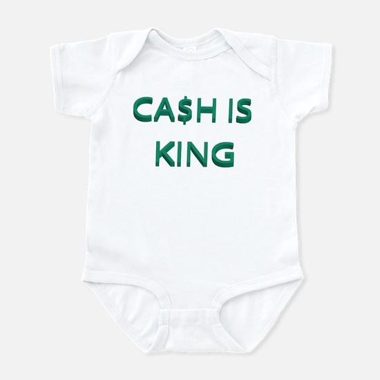 CASH IS KING Infant Bodysuit