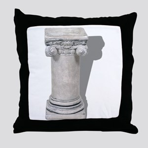 Formal Pedestal Throw Pillow