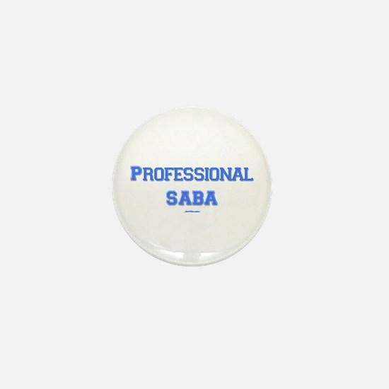 Professional Saba Hebrew Mini Button